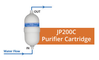 JP200 Features Purifier Cartridge