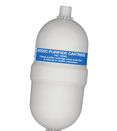 JP200C Features Healthier Purified Water