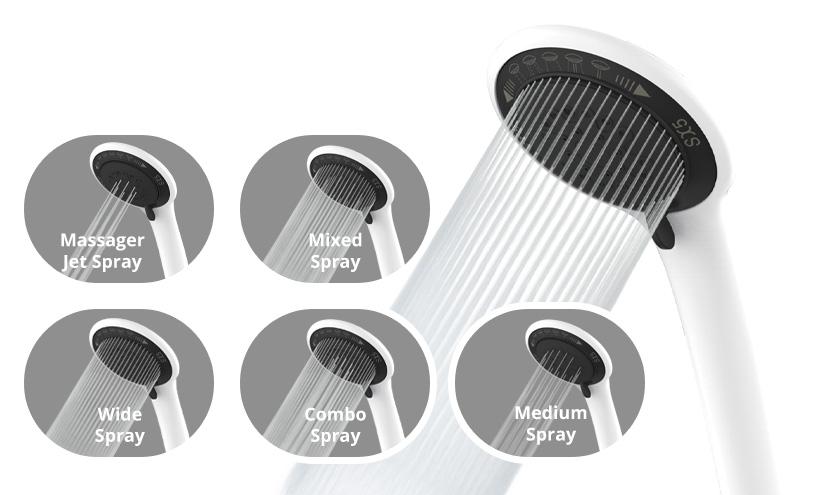 5 Spray Options