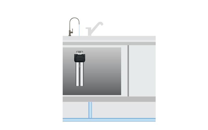 JP300-POU Under-Sink Purifier